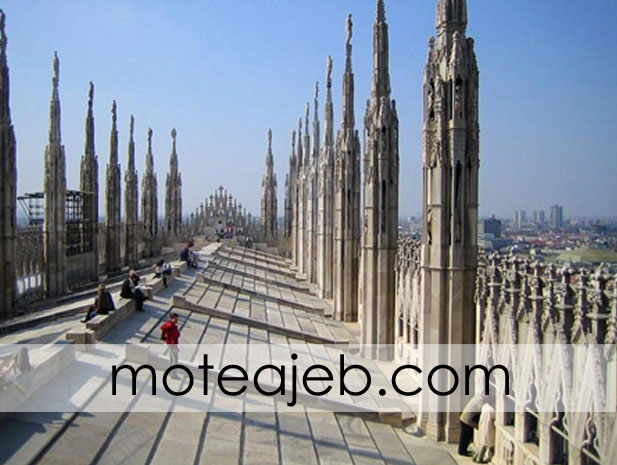 Duomo di Milano 3 - کلیسای دوئومو در میلان