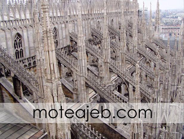 Duomo di Milano2 - کلیسای دوئومو در میلان