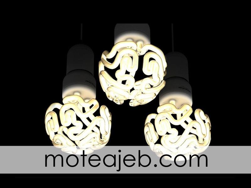 lamp be shekl maghz 2 - لامپ به شکل مغز