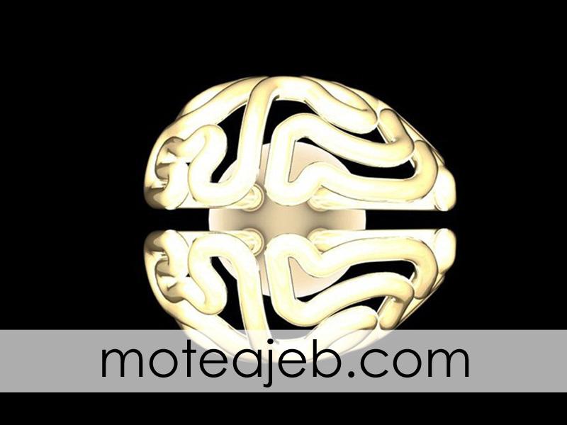 lamp be shekl maghz 4 - لامپ به شکل مغز