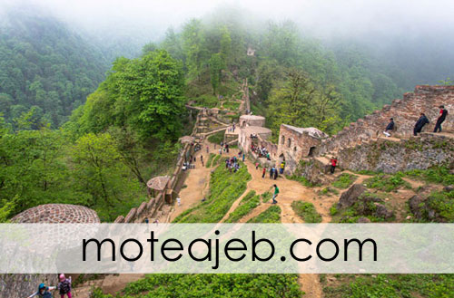 ghale ghadimi 1 - قلعه قدیمی رودخان در گیلان