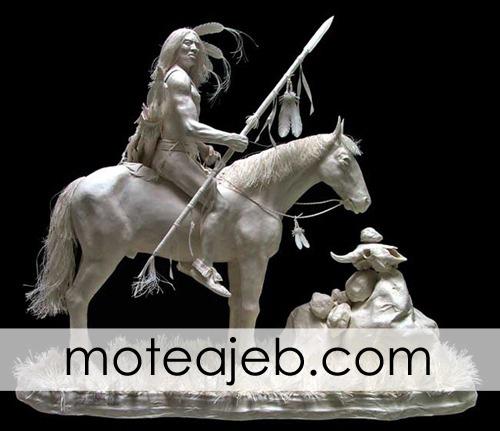 mojasame kaghazi 1 - مجسمه های کاغذی (1)