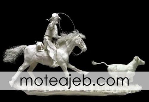 mojasame kaghazi 4 - مجسمه های کاغذی (1)