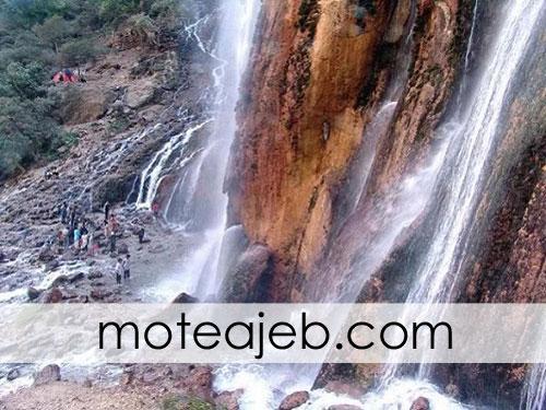 abshar cheshmei margon 2 - آبشار چشمه ای مارگون