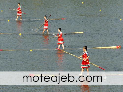 ghayegh rani ba bambo - قایقرانی با بامبو