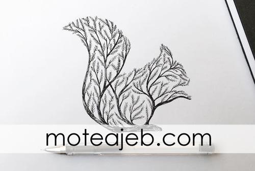 heyvanat derakhti 6 - حیوانات درختی
