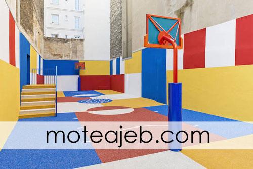 zamin ajib basketbal 3 - زمین عجیب بسکتبال