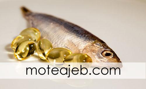 ویژگی های روغن ماهی
